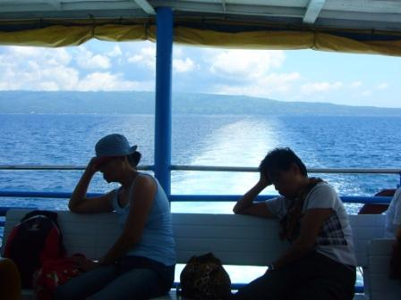 Power Nap. Bato, Cebu at the background