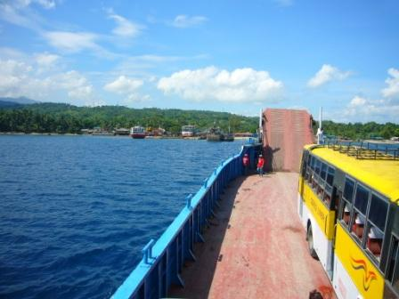 Approaching Tampi/Amlan, Dumaguete City Port
